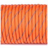Paracord reflective, orange yellow #r3044