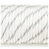 Paracord reflective, white #r3007