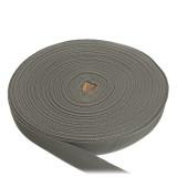 Лента окантовочная, 24 мм, серая полиамидная
