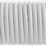 Shock cord (5 mm), white  #s007-5
