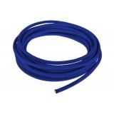 Провод в тканевой оплетке 5 мм, blue #001