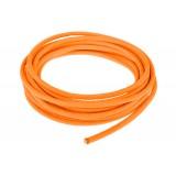 Провод в тканевой оплетке 5 мм, orange yellow #044
