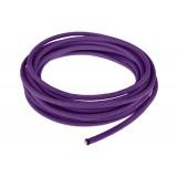 Провод в тканевой оплетке 5 мм, purple #026