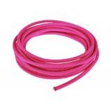 Провод в тканевой оплетке 5 мм, sofit pink #315