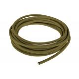 Провод в тканевой оплетке 5 мм, army green #010
