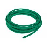 Провод в тканевой оплетке 2 мм, emeral green #086