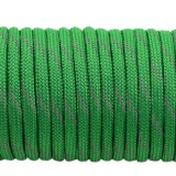 Paracord reflective X3,  green #r3025