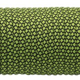 Paracord Type III 550, fluo green snake (016+017) #091