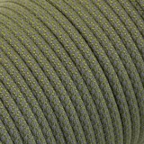 Paracord reflective 50/50, super reflective snake  moss #r16331S