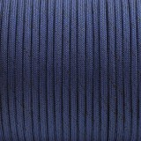 Paracord Type III 550, BLACK NOISE: royal blue #376-BN