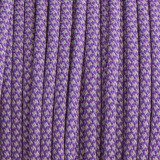 Paracord reflective 50/50, super reflective snake purple #r16026S