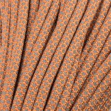 Paracord reflective 50/50, super reflective snake Apricot  #r16085S