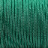Paracord Type III 550, BLACK NOISE emerald green #086-BN
