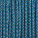 Paracord reflective 50/50, super reflective snake sky blue #r16024S