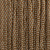 Paracord reflective 50/50, super reflective snake  copper brown  #r16015S