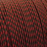 Paracord 425 Type II (3mm), OD red camo #165-Тype2