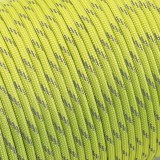 Paracord Type III 550, reflective X3 (светоотражающий) green pastel #r3421