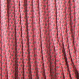 Paracord reflective 50/50, super reflective snake sofit pink #r16315S