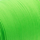 Minicord. Paracord 100 Type I (1.9 mm), neon green #462-type1