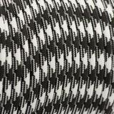 PPM cord 6 mm, black white #037-PPM6