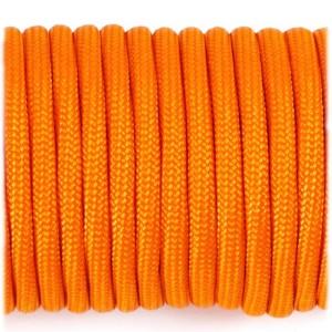 Paracord Type III 550, orange yellow #044