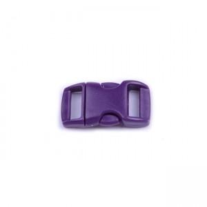 """3/8"""", фиолетовый, фастекс пластиковый"""