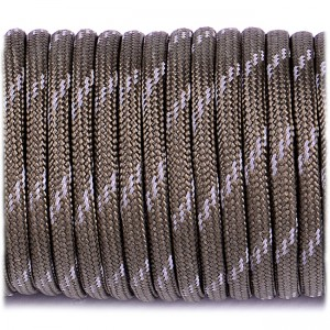 Paracord reflective, army green #r3010