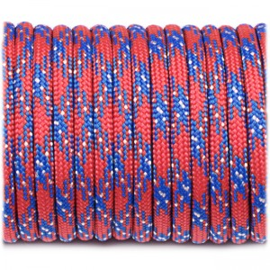 Paracord Type III 550, red moon #164