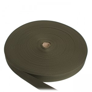 Лента ременная, 25 мм, олива полиамидная