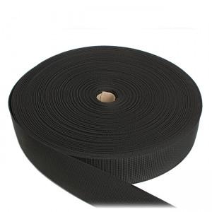 Лента ременная, 50 мм, черная полиамидная