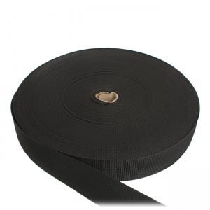 Лента ременная, 40 мм, черная полиамидная