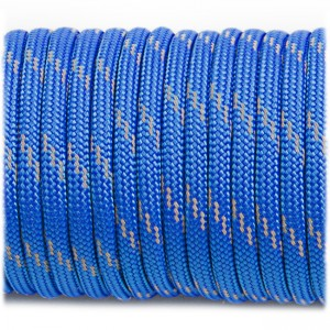 Paracord reflective, blue #r3001