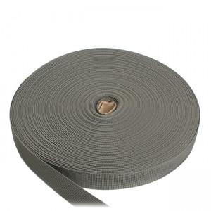 Лента ременная, 25 мм, серая полиамидная