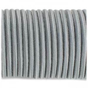 Shock cord (3.6 mm), dark grey #s030-3.6