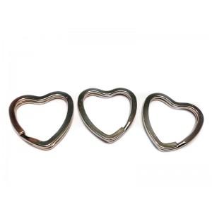 Кольцо сердце, 26 мм.