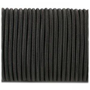 Shock cord (2 mm), black #s016-2 (полиэстер)