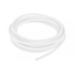 Провод в тканевой оплетке 5 мм, white #007