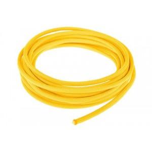 Провод в тканевой оплетке 4 мм, yellow #019