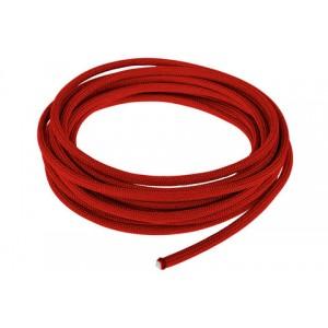 Провод в тканевой оплетке 4 мм, red #021
