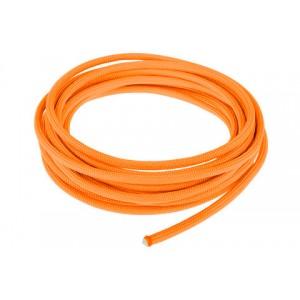 Провод в тканевой оплетке 4 мм, orange yellow #044