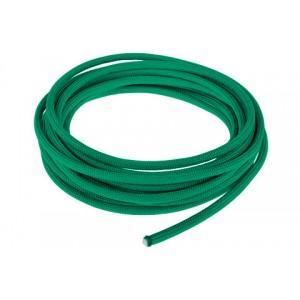 Провод в тканевой оплетке 4 мм, emeral green #086