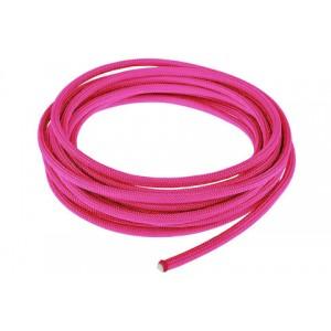 Провод в тканевой оплетке 4 мм, sofit pink #315