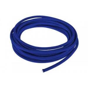 Провод в тканевой оплетке 4 мм, blue #001