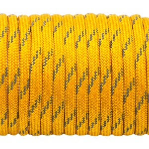 Paracord reflective, honey gold #3089