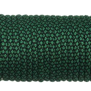 Paracord Type III 550, dark emerald green snake #415 (022+016)