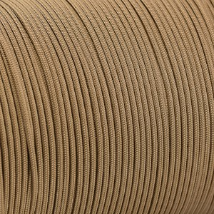 Paracord 425 Type II (3mm),  coyote brown #012-Тype2