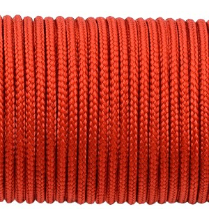 Microcord (1.4 mm), red fire #021F-1