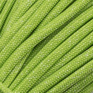 Paracord Type III 550, NOISE fluo green #017-N