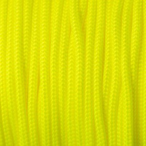 Paracord Type II (3mm), sofit yellow #319-T2