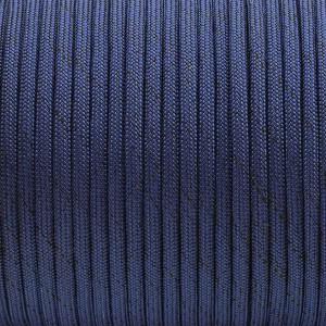 Paracord Type III 550, BLACK NOISE: royal blue #376-BN